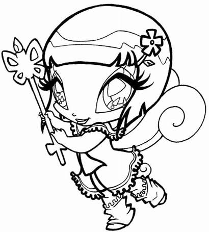 Winx Coloring Club Pages Bloomix Pixies Fairies