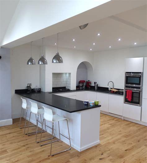 open plan kitchen diner harborne  general architecture company