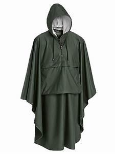Ideal Weight Women Pinewood Gustav Rain Cape Green Rainwear