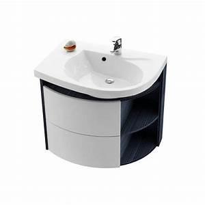 Meuble Salle De Bain Asymétrique : meuble de salle de bain asym trique ravak rosa ~ Nature-et-papiers.com Idées de Décoration