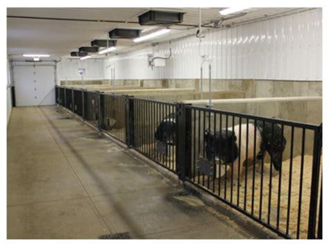 Hog Barn Plans by Boar Pens Goat Barn Pig Farming Cattle Barn