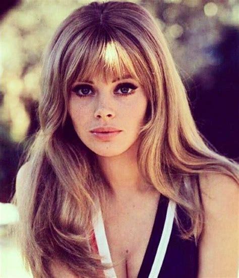 60s Bangs Hairstyles by Britt Ekland 70s Hair Hair Styles Britt Ekland