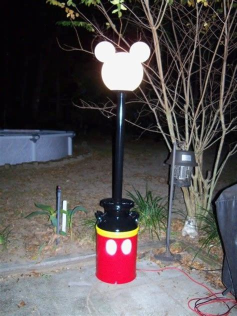 mickey mouse outdoor l post 43 best mickey mouse cing decorations images on