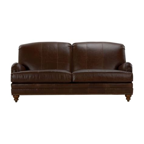 Ethan Allen Leather Sofa Recliner by Leather Sofas Ethan Allen Us Furniture
