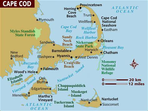 Maps Of Cape Cod, Martha's Vineyard, And Nantucket