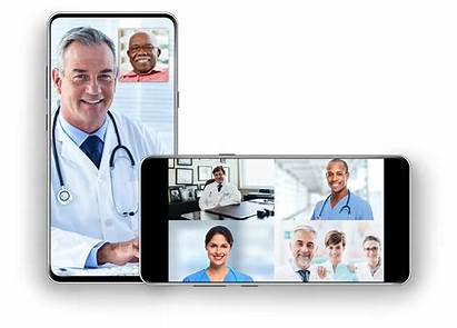 Visits Telemedicine Multiparty Phone