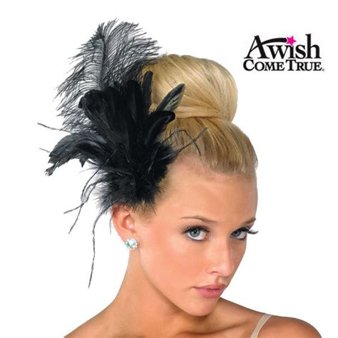 A Wish Come True Dance 2020 Feather Hair Clip Dance