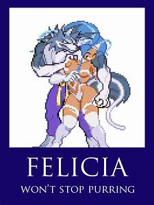 Talbain X Felicia by CruiseShipper on DeviantArt