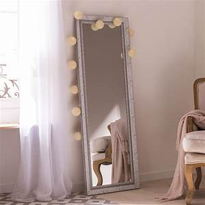 Miroir À Coller Leroy Merlin : miroir louise gris x cm leroy merlin ~ Melissatoandfro.com Idées de Décoration