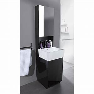 Meuble Pour Petite Salle De Bain : meuble de salle de bain avec vasque carrelage salle de bain ~ Dailycaller-alerts.com Idées de Décoration