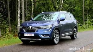 Renault Koleos 2017 Fiche Technique : renault koleos 2017 les premi res photos de notre essai ~ Medecine-chirurgie-esthetiques.com Avis de Voitures