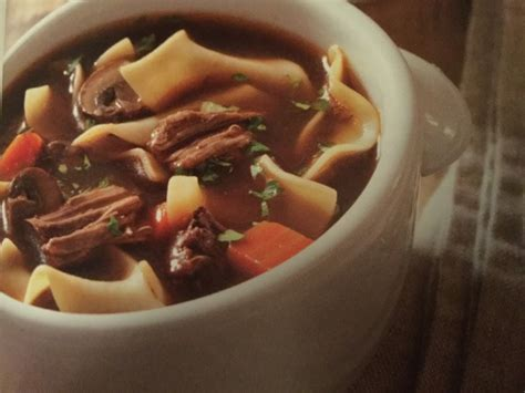 fashioned beef  noodle soup recipe genius kitchen