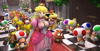 Peach Mario Princess Super Render Games Backgrounds