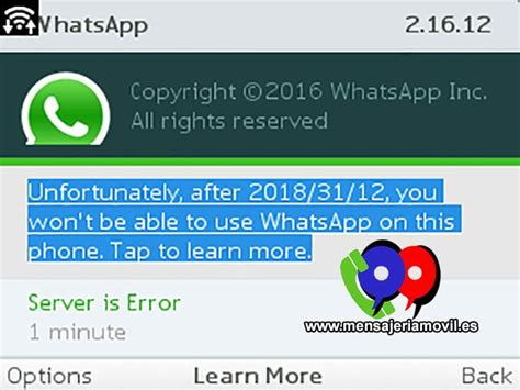 whatsapp will extend support on blackberry just like on nokia s40