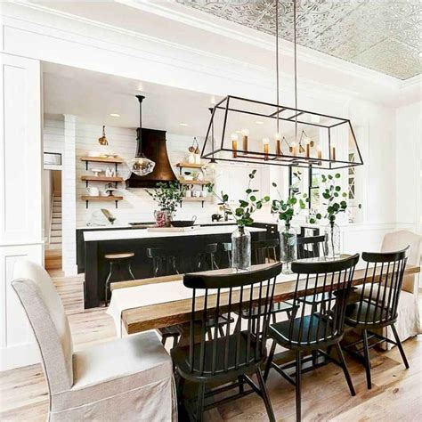 Esszimmer Renovieren Ideen by 40 Comfy Modern Farmhouse Dining Room Remodel Ideas