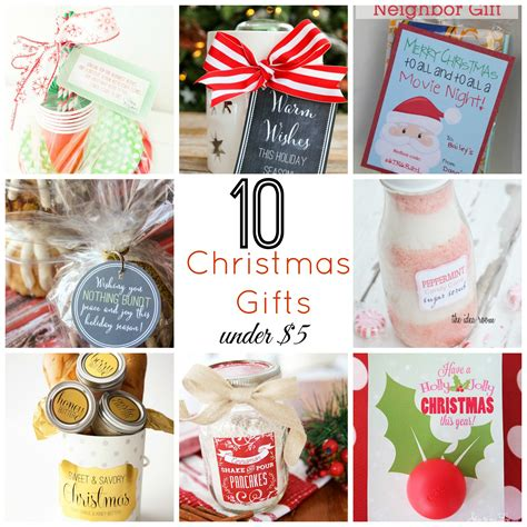 christmas ideas for 10 christmas gifts under 5 skip to my lou