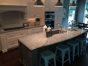 white spring granite as interior material for futuristic kitchen design 1499