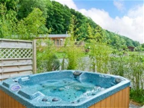 The Lake District Log Cabins With Tub - feel the at a lake district log cabin sykes