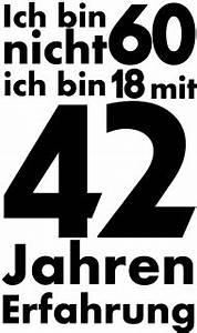 60 Geburtstag Frau Lustig : 60 geburtstagsshirt ich bin nicht 60 gebuertsdaag an aner fester geburtstag spr che zum ~ Frokenaadalensverden.com Haus und Dekorationen