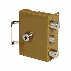 Serrure 3 Points : serrure de porte heracles p ricl s 3 points en applique ~ Premium-room.com Idées de Décoration