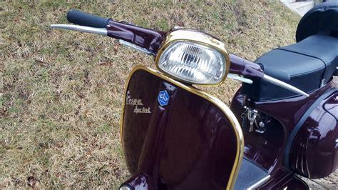 1968 vespa sprint in original piaggio amaranto