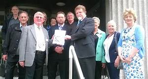 Residents deliver petition to implement flood defences ...