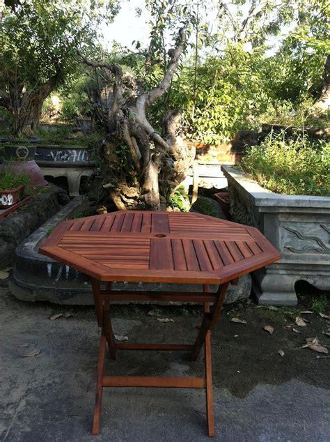 garden wooden table wood patio bistro furniture