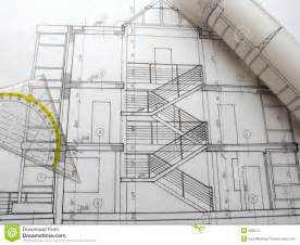free architectural plans architectural plans royalty free stock photo image 588375