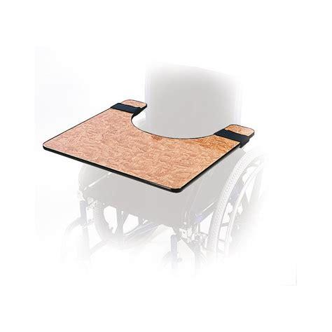 tablette amovible pour fauteuil roulant manuel