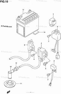 Suzuki Atv 1997 Oem Parts Diagram For Electrical