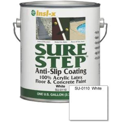 sure step 1 gal anti slip acrylic interior exterior