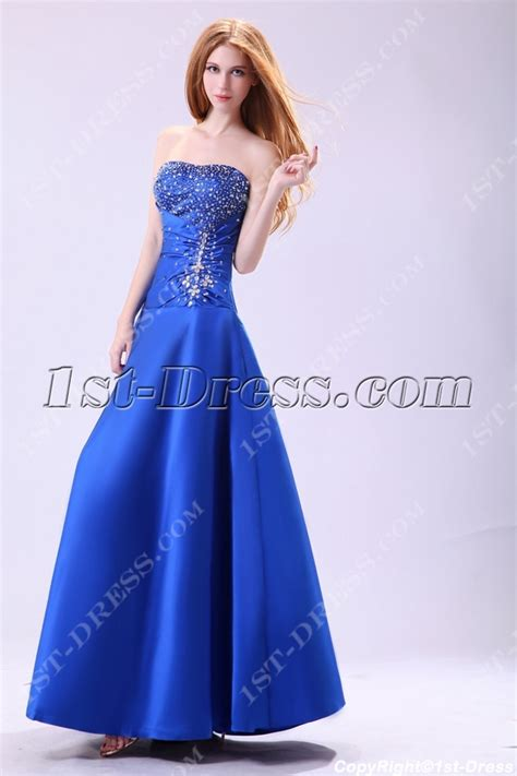 Stylish Royal Blue 15 Vestidos de Quinceanera:1st dress.com