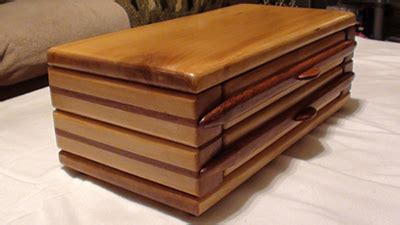 yellow wood jewelry case woodworking blog  plans