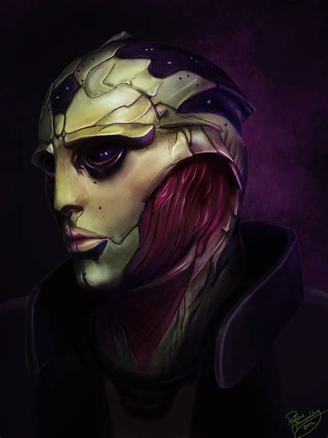 Mass Effect Thane Krios By Ruthieee On Deviantart