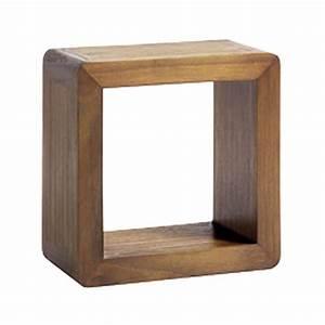 Meuble Cube But : tag re murale cube d coration r tro pour la maison ~ Teatrodelosmanantiales.com Idées de Décoration
