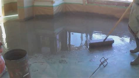 Installing Laminate Floors Concrete by How To Level Concrete Subfloor Preparation For Laminate