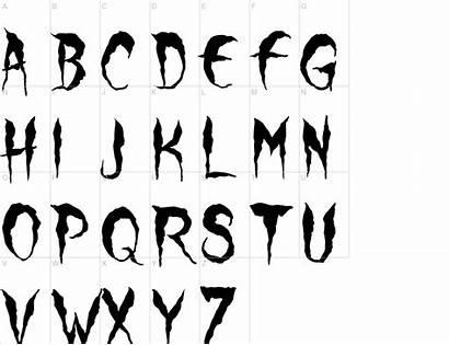 Wolf Moon Font Urbanfonts Characters Fonts