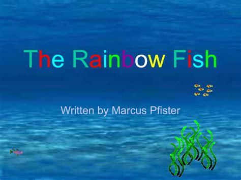 rainbow fish interractive story