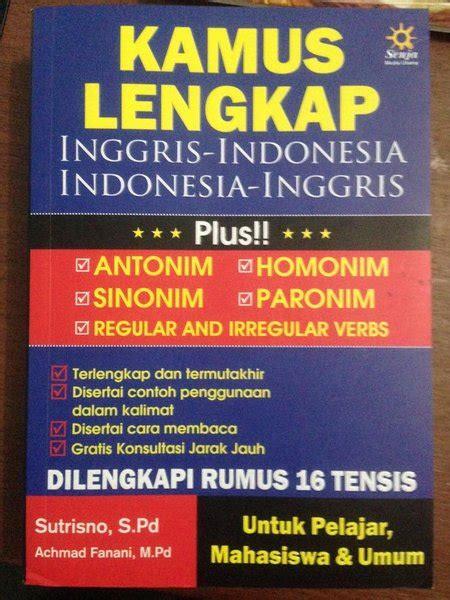 jual kamus lengkap inggris indonesia indonesia inggris di lapak mf store mbifebryan