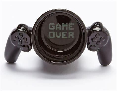 NerdyMugs.com   Gamer Mug ? Controller handle ? Game over