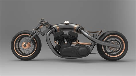 Lowrider Motorcycle Concept By John Bridge At Coroflot.com
