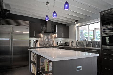 Grey And Black Traditional Kitchen