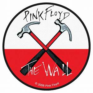 Pink Floyd 'Hammers' Woven Patch - Heavy Metal Online
