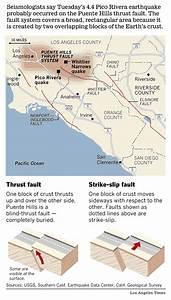 Puente Hills fault focuses shaking toward downtown Los ...