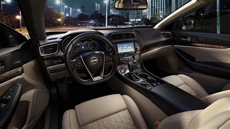 2016 Nissan Maxima Interior by 2016 Nissan Maxima Features Interior Nissan Usa