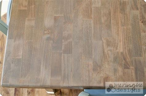 Weathered Oak by Minwax : Restaining a Kitchen Table