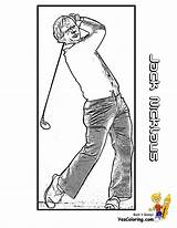 Golf Coloring Nicklaus Jack Player Legend Printables Yescoloring Pages Boys Fisted Pro Sports Zaharias Babe sketch template