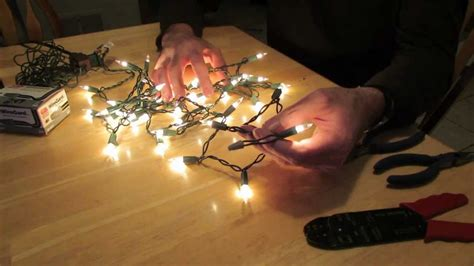 how do 3 wire christmas lights work how to remove an end plug from a christmas light string