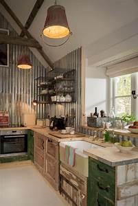 44, Wonderful, Farmhouse, Kitchen, Ideas, Design, With, Rustic