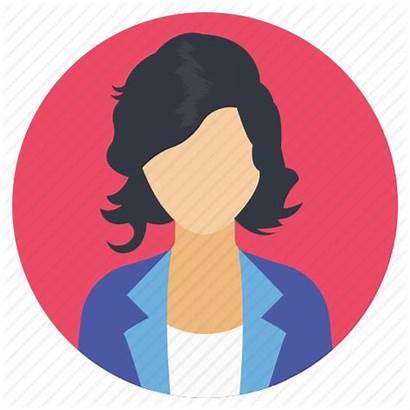 Avatar Icon Female Office Woman Employee Secretary